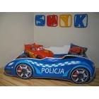 SAMOCHÓD Łóżko dziecięce POLICJA 140x70 AUTO