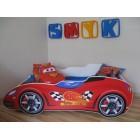 Łóżko dziecięce SAMOCHÓD - 140x70 czerwony New Car