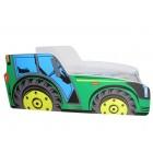 Łóżko dziecięce TRAKTOR 140 x 70 traktor zielony