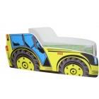 Łóżko dziecięce TRAKTOR 140 x 70 traktor żółty